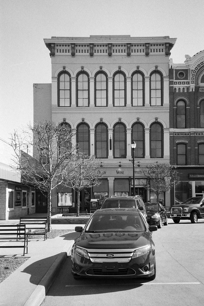 Former opera house, Shelbyville