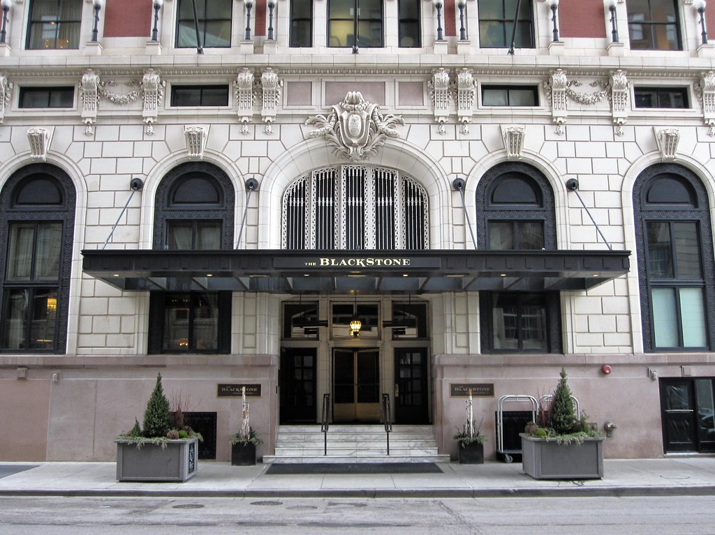 Blackstone Hotel Hangout of Al Capone and Lucky Luciano