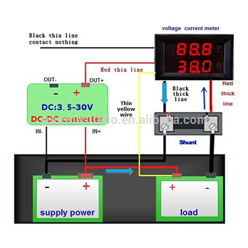 autometer voltmeter wiring diagram john deere 3020 gas 62 schwabenschamanen de and ammeter 5 wires using shunt flickr rh com 3 wire