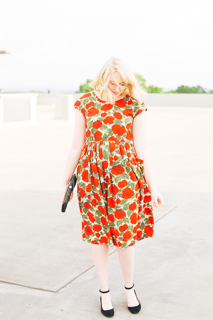 austin fashion blogger spring wedding outfit vintage dress17