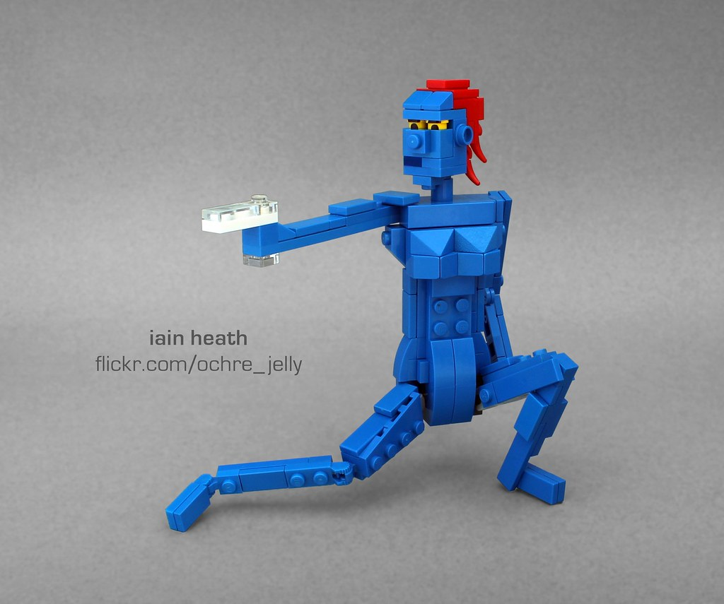 LEGO Mystique Mutant and proud  As seen in the movie X  Flickr