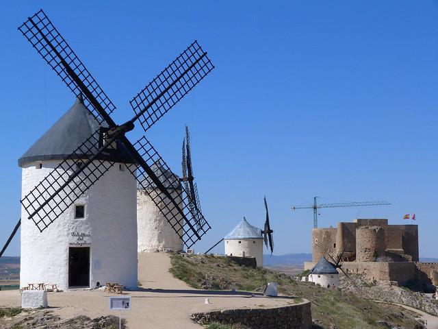Cerro Calderico de Consuegra (Toledo) - Ruta de Don Quijote de La Mancha en coche