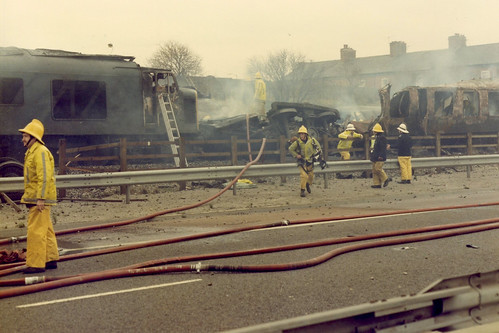 Weaste Train Crash 4th December 1984 A Series Of Photogra Flickr