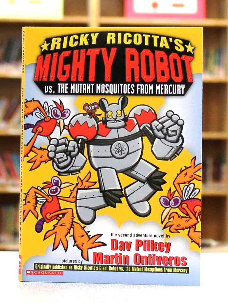 Ricky Ricottas Mighty Robot vs the Mutant Mosquitoes Ri  Flickr