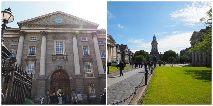 Trinity college, Dublin - Due Midwest