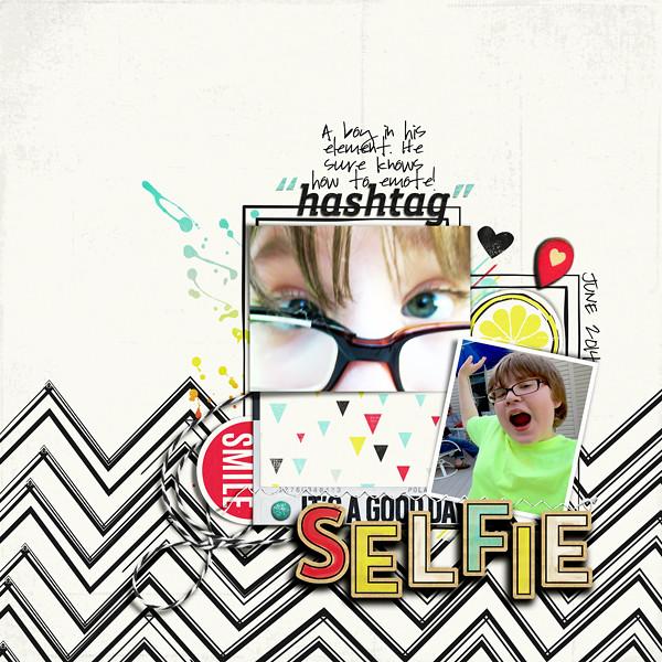 """hashtag"" selfie"