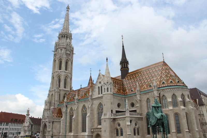 Matthias Church on Uniworld River Cruise River Beatrice excursion in Budapest