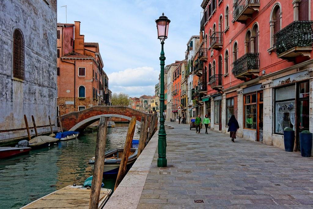 Venice  Fondamenta della Misericordia  Rio della Miseric