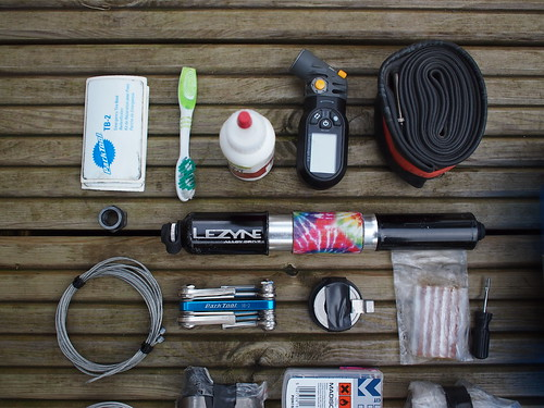 Tour Divide toolkit closeup 2