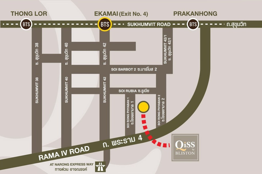 Map Qiss Residence
