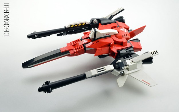 Get your helmet on and pilot this red-hot starfighter
