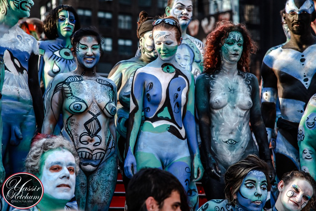 New York Body Paint Day 2014  30 artists painting 40 fully   Flickr