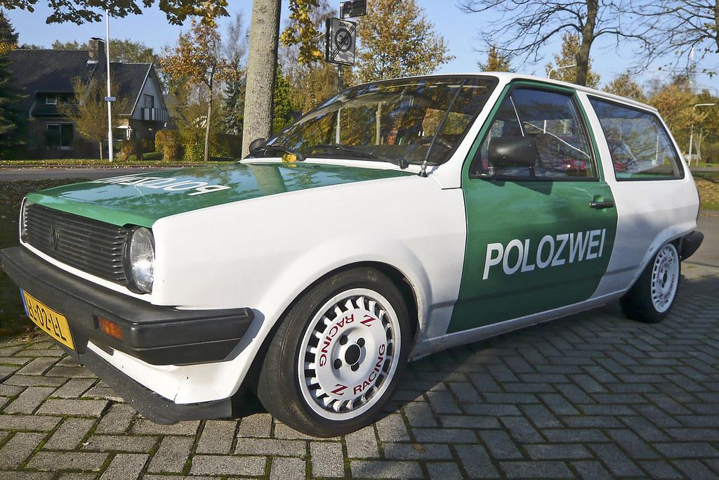 Volkswagen POLOZWEI 1110770  1984 Volkswagen Polo C29kW