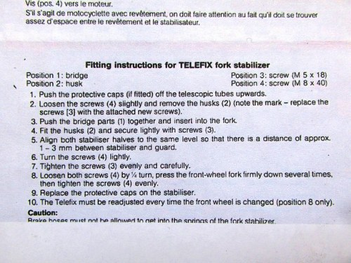 Telefix Instructions