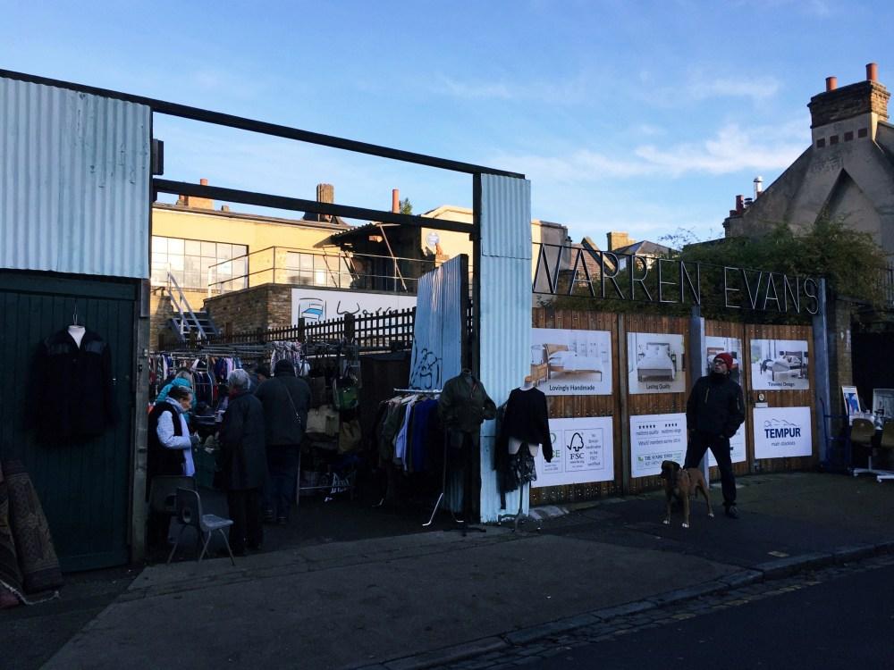 11 Dec 2016: The Yard at Ezra Street | London, England
