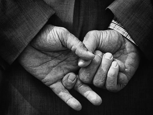 Hands Fidgeting From Boredom