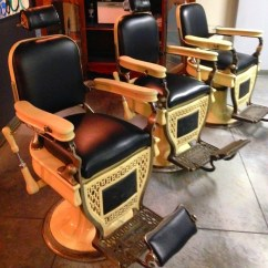 Antique White Chairs Bean Bags For Kids $$$avail Chairs$$$$$ :-) Barber Chair Restoration …   Flickr