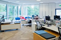 Cadbury_Schweppes_08 | Open plan office layout at the ...