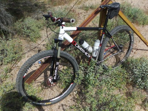 titanium mountain bike