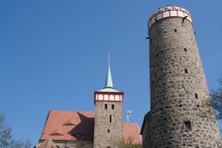 Alte Wasserkunst und Michaeliskirche