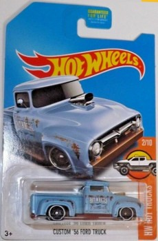 Hot Wheels Custom '56 Ford Truck 2017 HW Hot Trucks 2/10