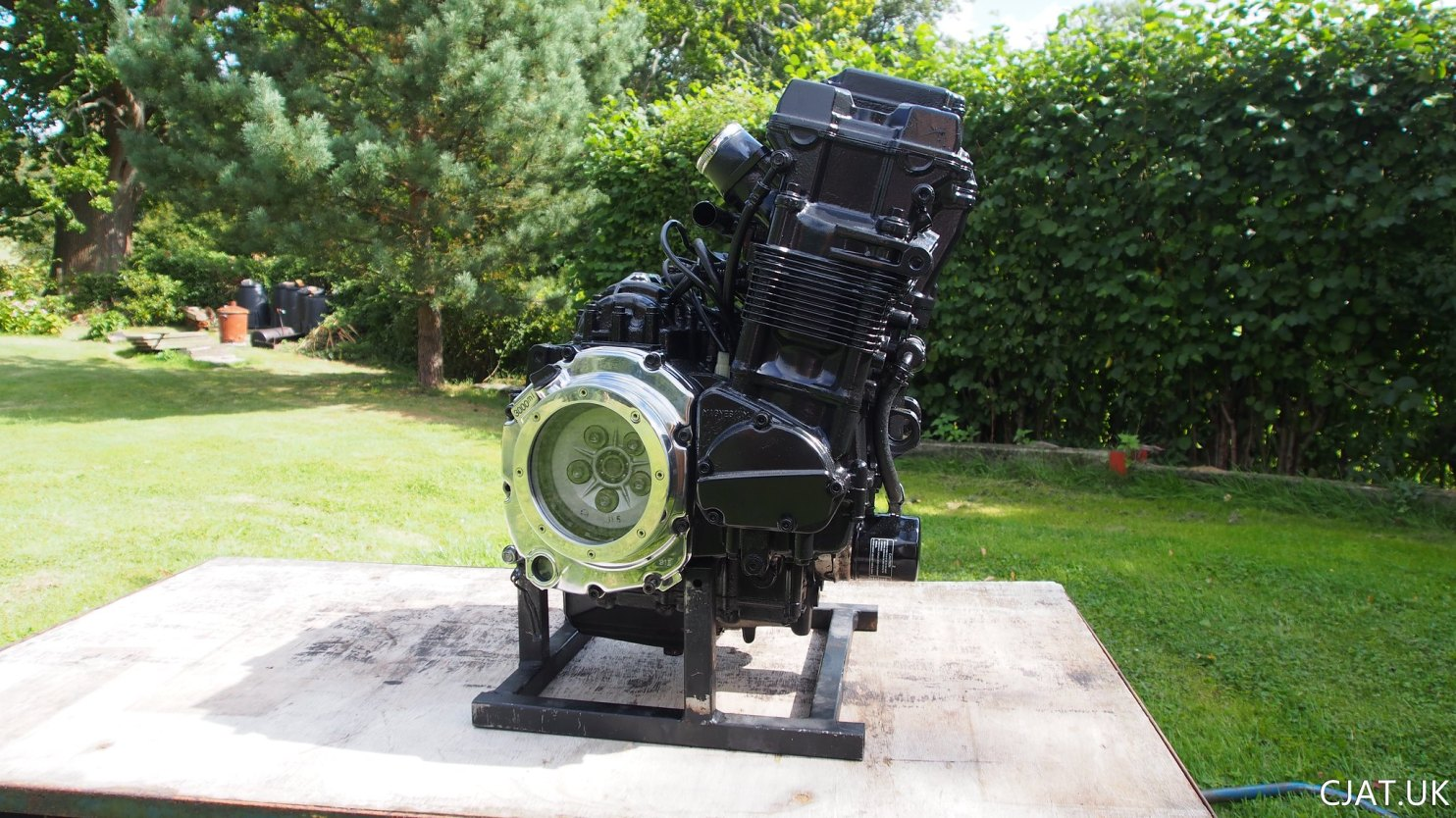 26. Engine Update – Repaired, Painted & Improved