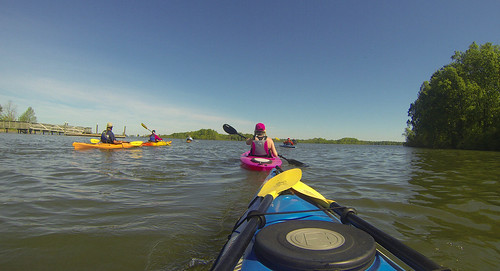 Paddle to Church Island with the Tri-County Blueways Paddlers-042