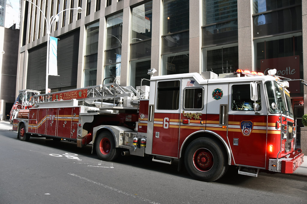 Picture Of City Of New York Fire Department Ladder Company