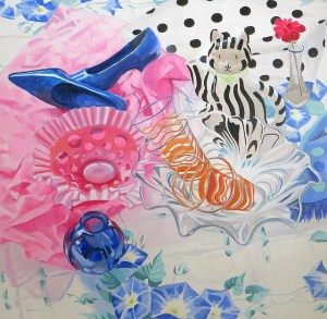 Blue Shoes by Margie Guyot
