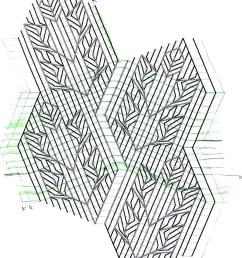 rose leaf knitting diagram by fuzzyjay [ 828 x 1023 Pixel ]