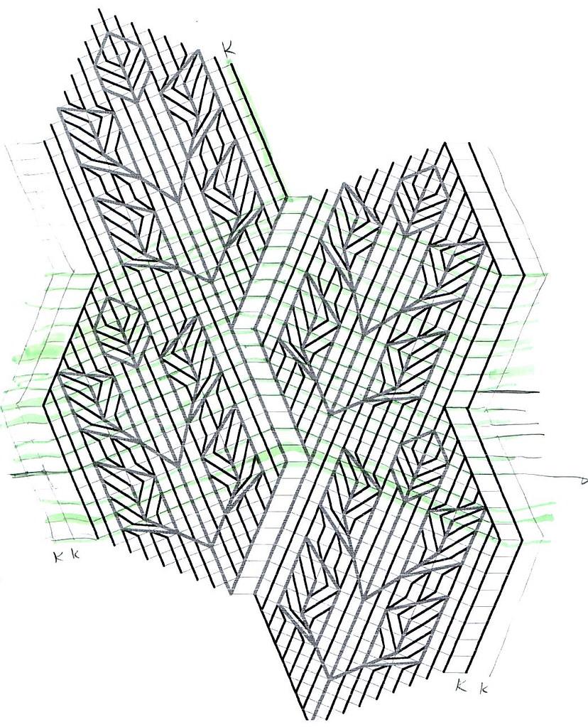medium resolution of  rose leaf knitting diagram by fuzzyjay