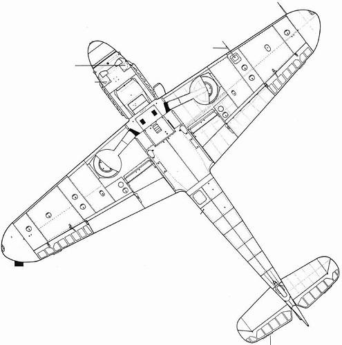 (For Aero Modelers) Messerschmitt Bf 109 G10 details (in e