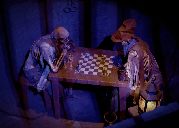 Pirates of the Caribbean Chess Stalemate