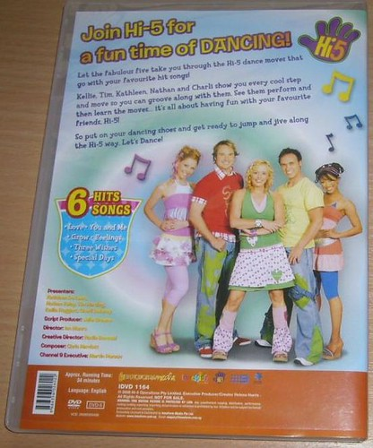 Hi 5 Dance Hits 1 Back 6 Hits Songs Love You And Me Flickr