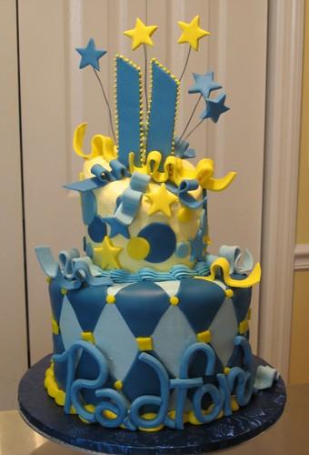 Radford S 11th Birthday Cake Topsy Turvy Although It