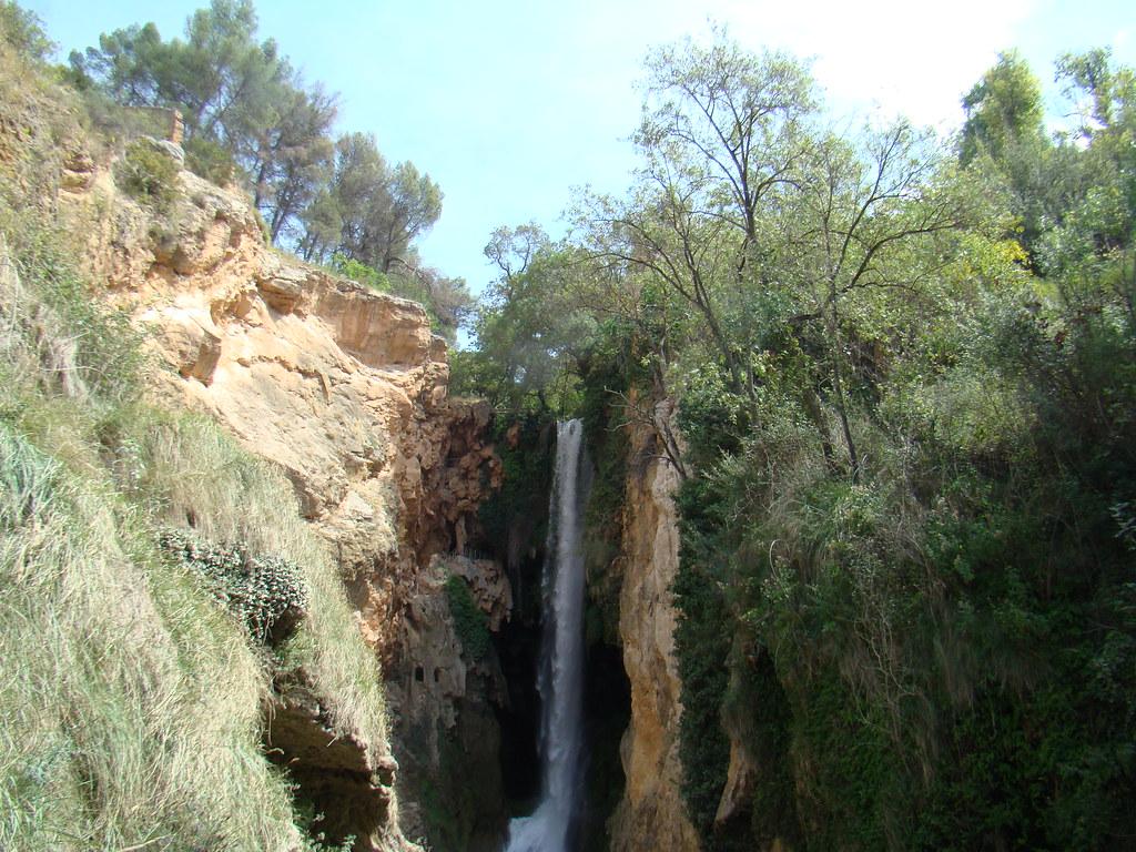 Parque del Monasterio de Piedra  cascada de la Cola del Caballo Nuevalos Zaragoza 031