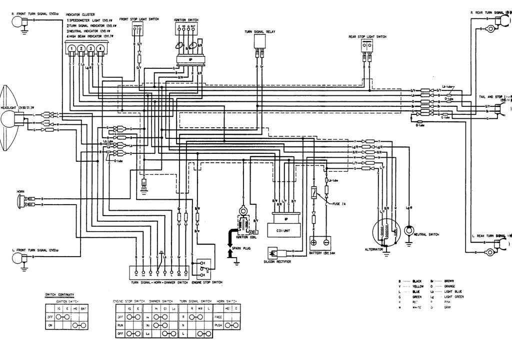 1995 Honda Wiring Diagram Electric Scooter Wiring Diagrams
