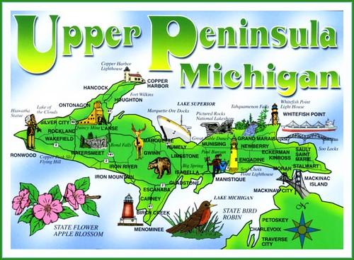 Upper Peninsula Michigan quotMICHIGAN39S UPPER PENINSULA