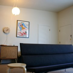 Eames Sofa Compact Vilasund Cover Bed With Chaise Longue There Are Hardwood Floors Under The Car By Matte Stephens