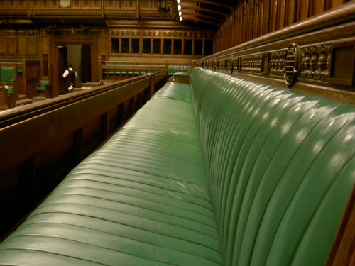 House Of Commons Chamber Bench Detail Members Of The