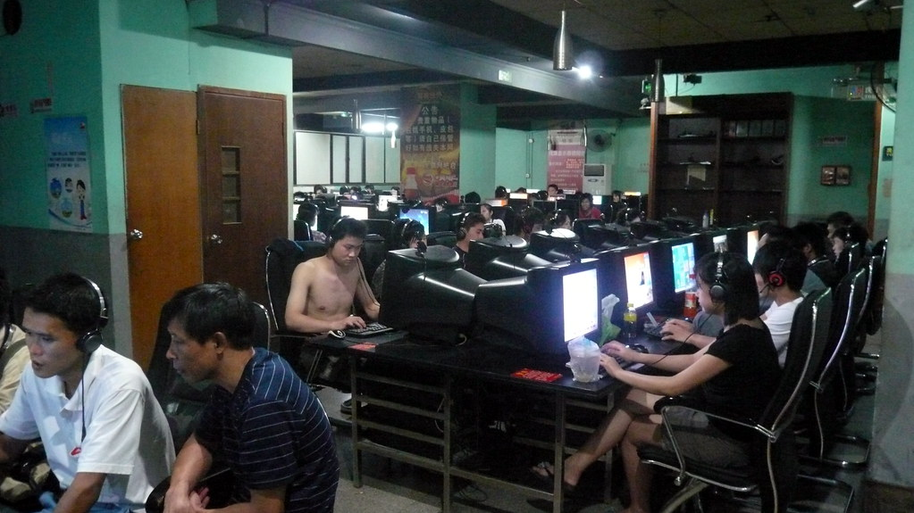 Online gaming is huge in China