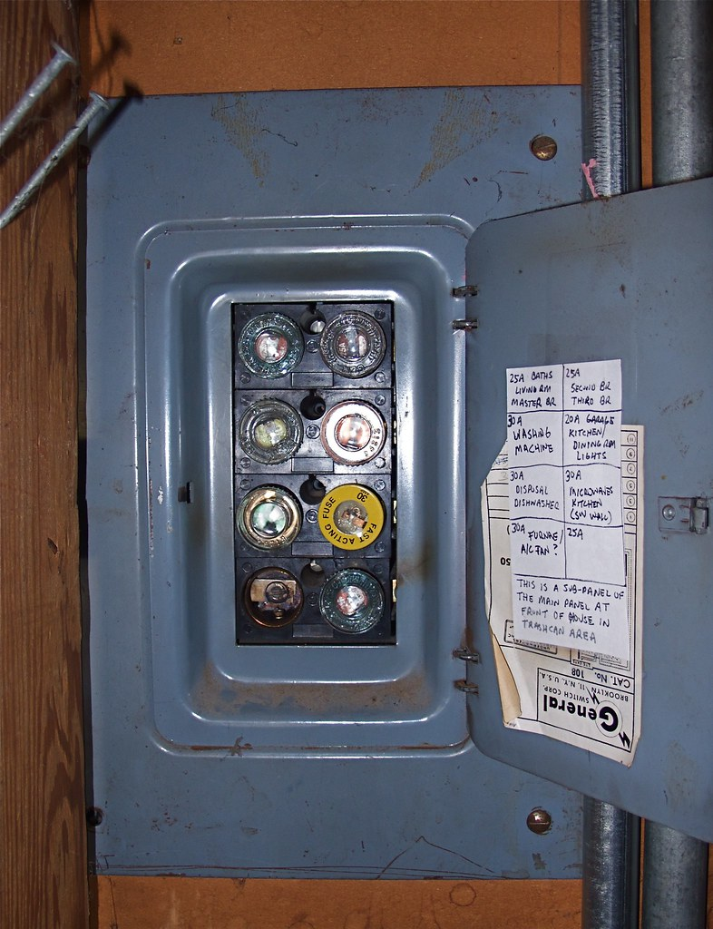 hight resolution of the evil fuse box vintage 1957