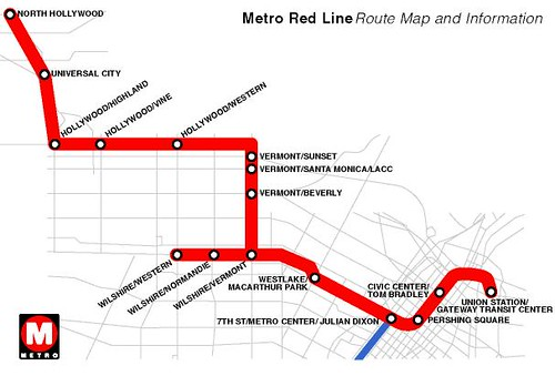 Dc Red Map Metro Line