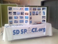 SD Space display table | Our very first display table, set ...