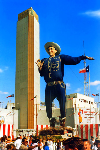 Big Tex in 1995 Outfit State Fair of Texas  Big Tex