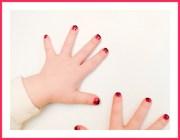 ladybug fingernails mara's
