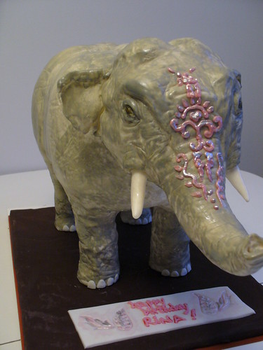 Elephant Sized Birthday Wishes Made For A Co Workers Gf Flickr