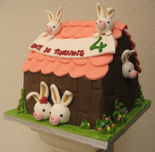House Of Rabbits Cake Design By Allan Yap And E T Yew Artisan