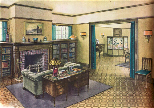 1920s Interiors Flickr