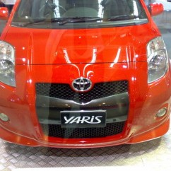New Yaris Trd Sportivo Toyota Putih Red R Flickr By Imut Boyz